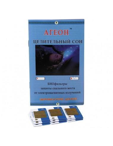 Купить Биофильтр защитный от электромагнитных излучени «Агеон» для двуспального места «Исцеляющий сон» Арго  - Столяров С. М.